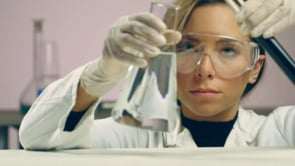 Chemist Mixing Fluids