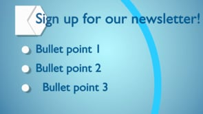 Newsletter Outro