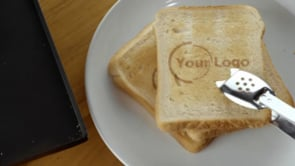Single Toast with Plate