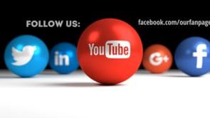 Social Icons Balls Black Youtube