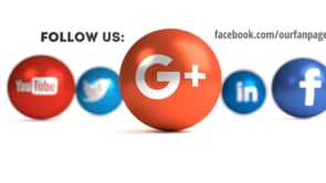 Social Icons Balls White Googleplus