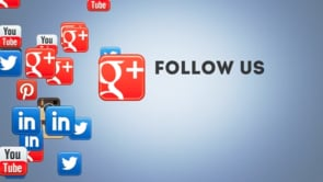 Social Icons Floating Googleplus